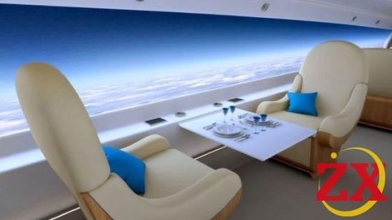 英国研发无窗飞机可透过屏幕看风景